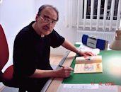 Comiczeichner Hansrudi Wäscher, Foto (c) Manfred Wildfeuer